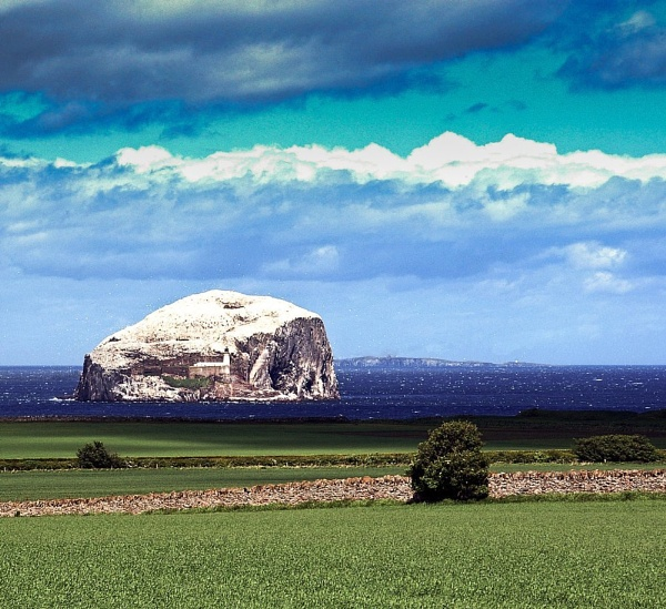 Bass Rock by tyronet2000