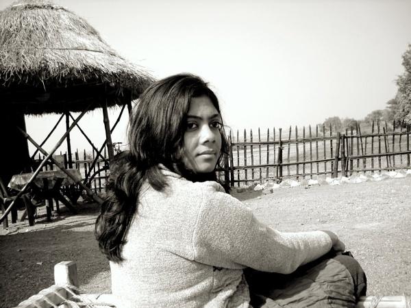 A Portrait of Lady. by BHUBAN