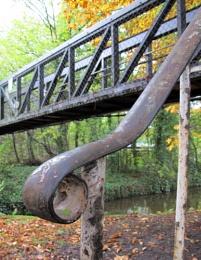 Handrail and bridge