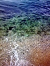 Clear Adriatic Water Of Porec