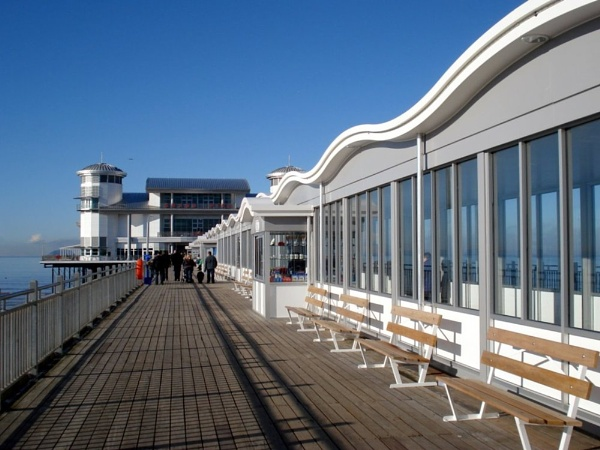 The new pier at Weston Super Mare by dixy