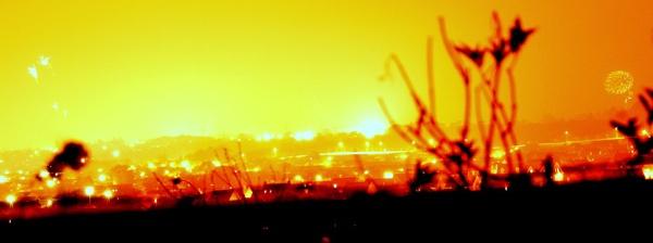 Firework Sky by leacook