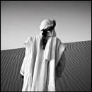 Koudede - Touareg musician; dunes of Timbuktu