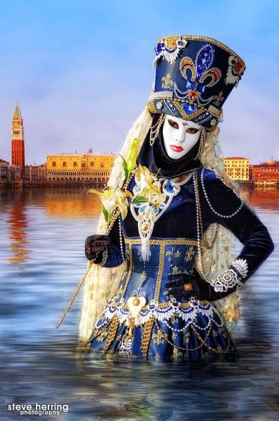 Venice Water Portrait. by sherring