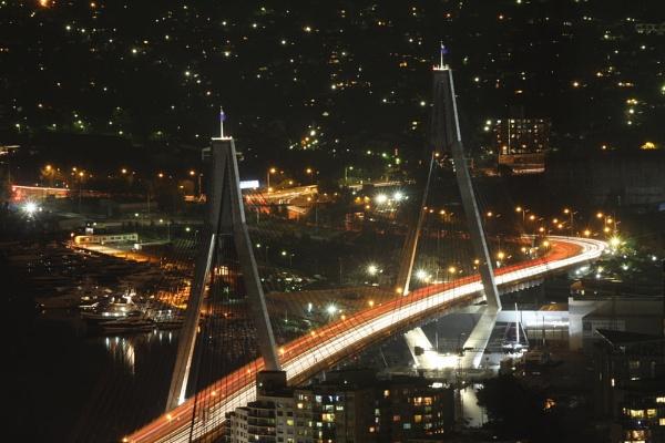 Anzac bridge by rowejay