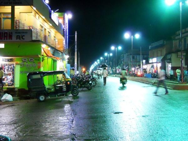 night scene by purna
