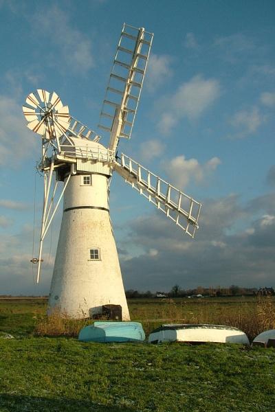 Thurne Windmill by markt