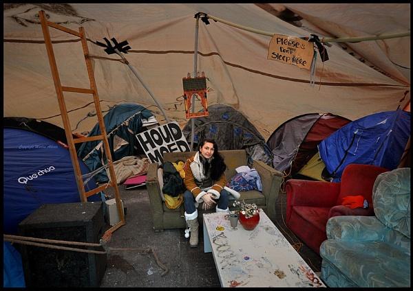 Occupy Amsterdam by martinalberts
