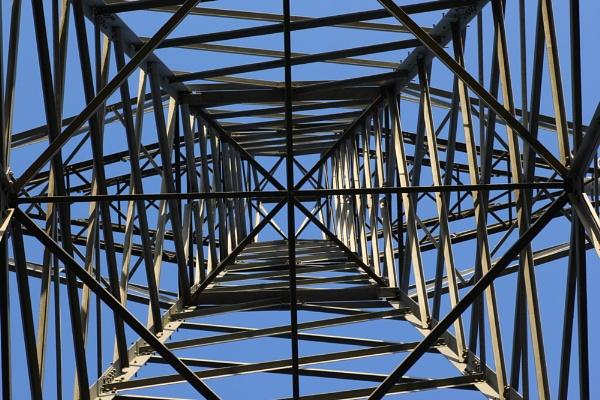 Up a pylon by Steve2rhino