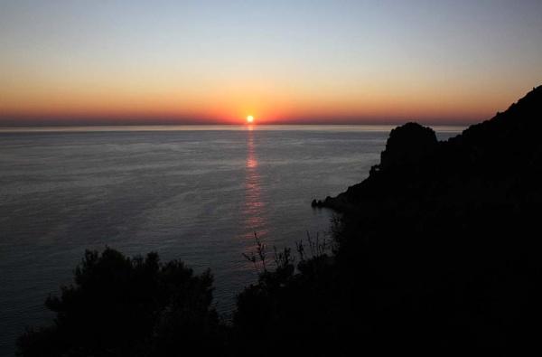 Corfu sunset by oaklea