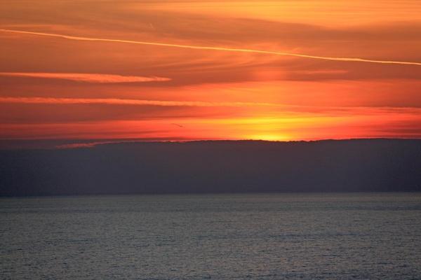 After Corfu sunset by oaklea