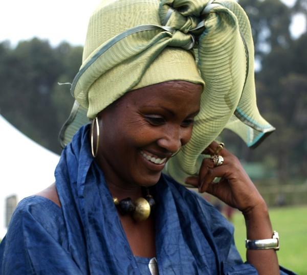 Rwandan lady by JuBarney