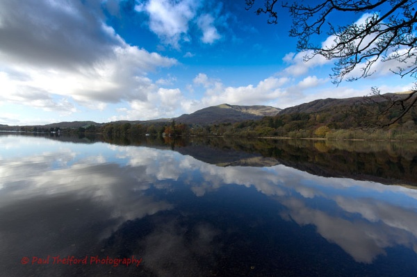 Coniston Water Relections by PaulThetfordPhotography