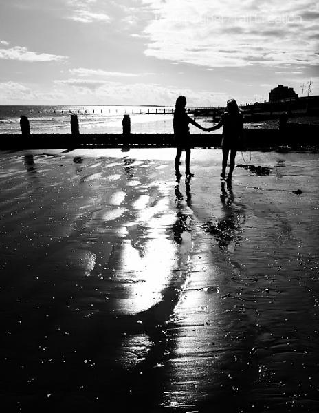Instant Karma On The Beach by TallCreation