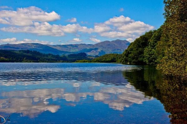 Scottish Loch by Jazzmk