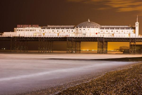 Brighton Pier by Jazzmk