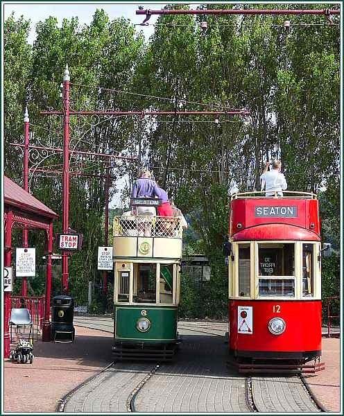Seaton trams by JPatrickM