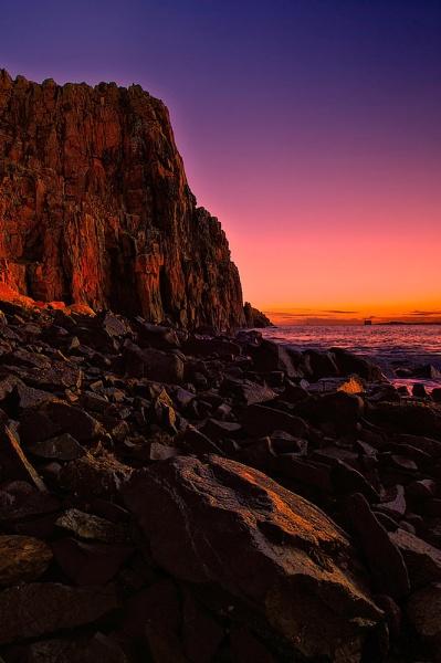 Sunrise Hawkscraig Point by GaryMoffat