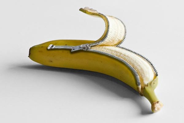 Unzip a banana! by TrevBatWCC