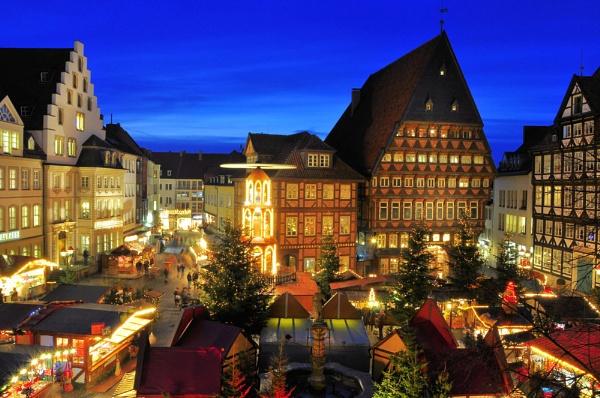 Christmas Market Hildesheim 2011 by gabriel_flr