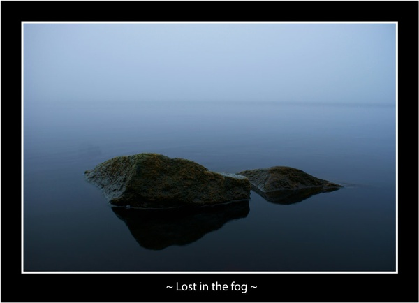 Lost in the fog by AndyBeattie