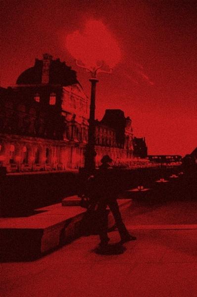 walking red by meenaghans