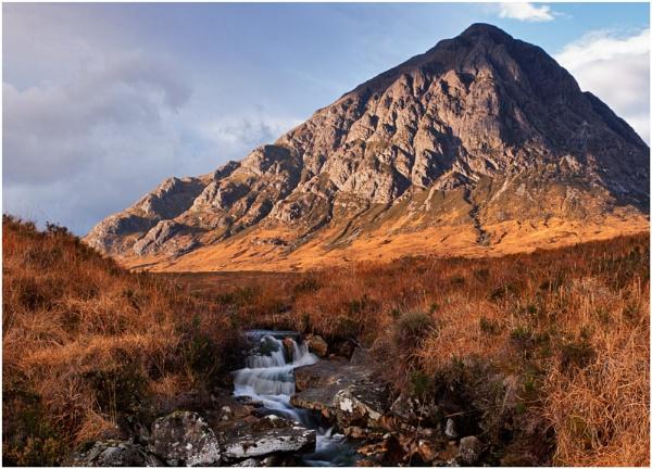 Buachaille Burn... by Scottishlandscapes