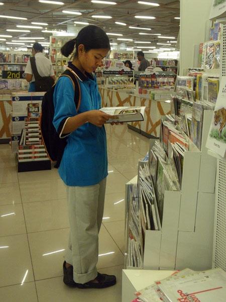 Reading Book by kombizz