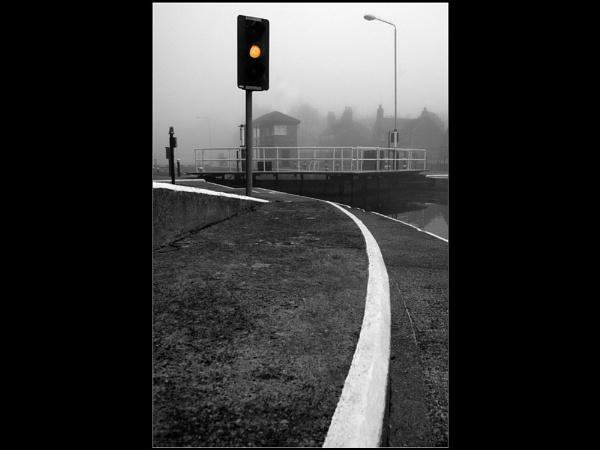 Misty Loch by wharmby