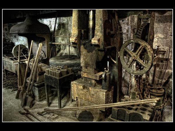 Blacksmiths Workshop by wharmby