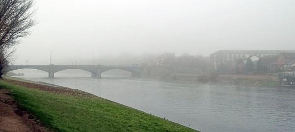 Autumn Mist by Hurstbourne