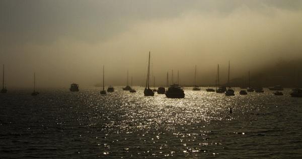 Misty Balmoral Sunrise by OzzyApple