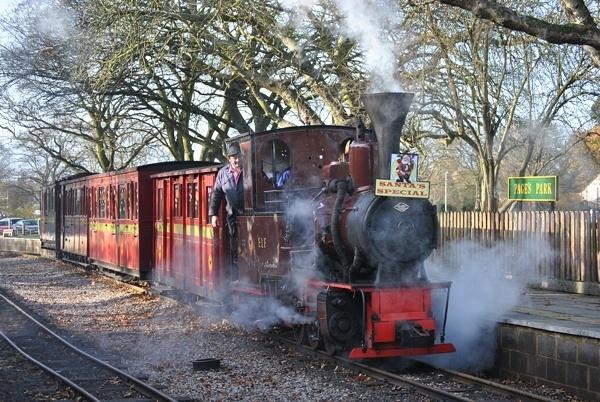 Santa\'s little steamer by Ian White