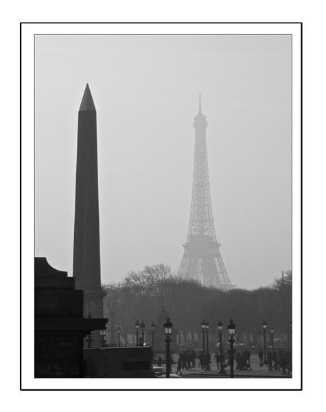 Place de la Concorde, Paris by heffalump