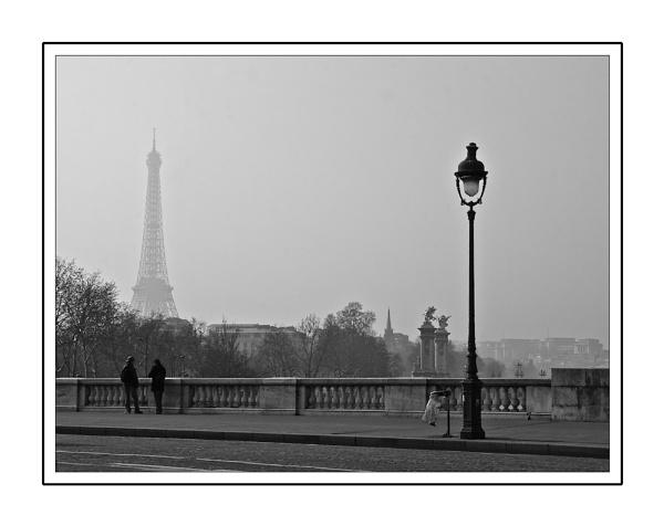 Paris (sur le pont) by heffalump