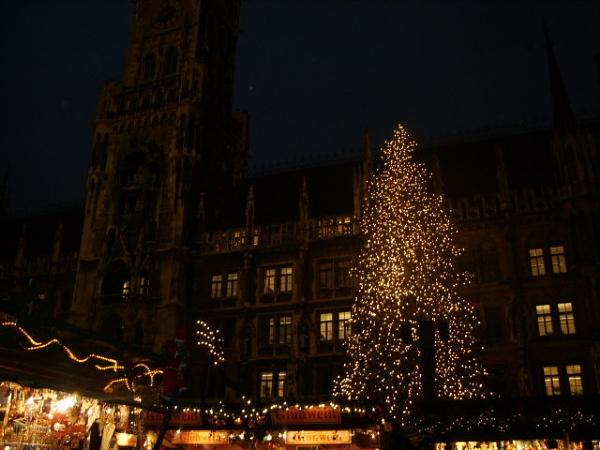 Munich at Christmas by cristalfiona