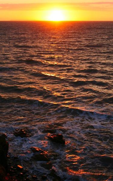 Westward Ho! Seascape by MGathercole