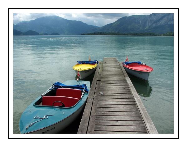 Austrian lake view by tonypic
