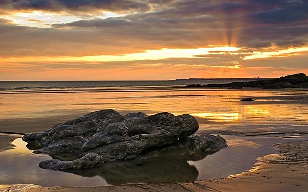 Dragons sunset by zapar40