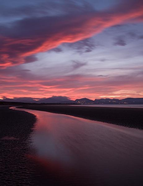 Newborough Sunrise by psiman
