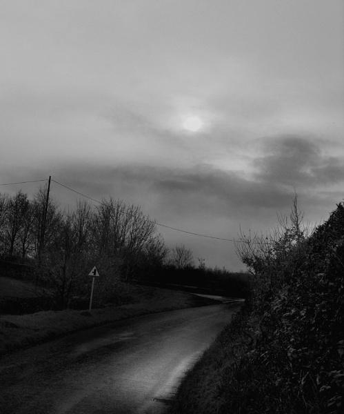 Deserted Lane by SimonAlesbrook