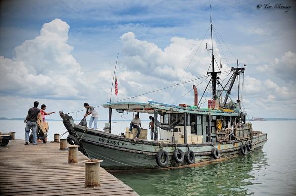 Sandakan Fishing Vessel by TimMunsey