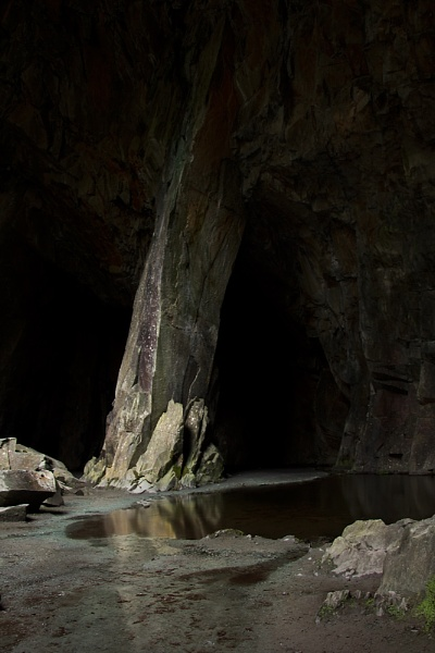 Cathedral Cave - Lake District by ahughes3