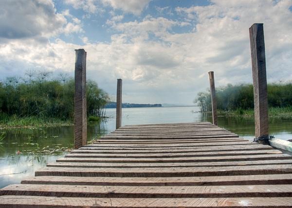 Jetty at Lake Naivasha by mortchem