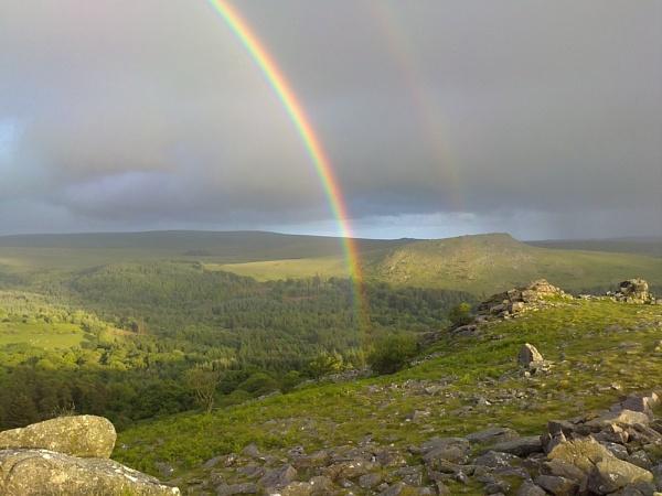 Rainbow on the Moor by andybirdphoto