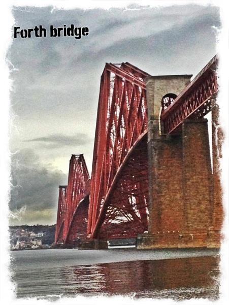 Forth Rail Bridge by Pearybhoy