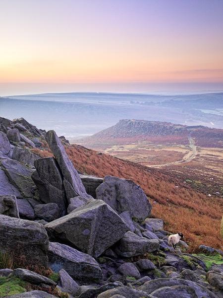 Dawn over Carl Wark by g0wex