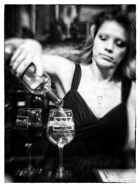 Barmaid - Georgetown Winery by AnneWorner