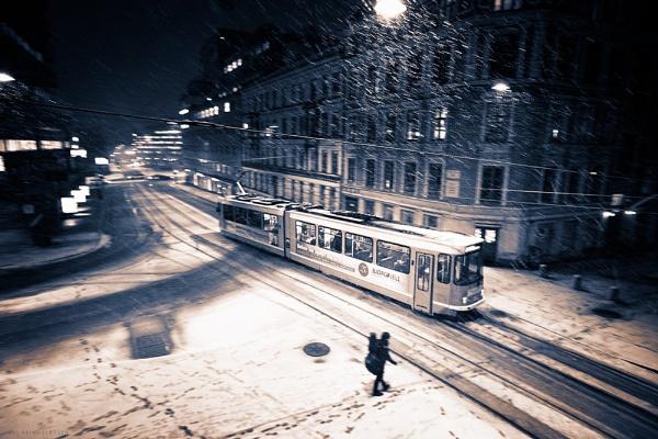 First Snowfall by EllieEdge