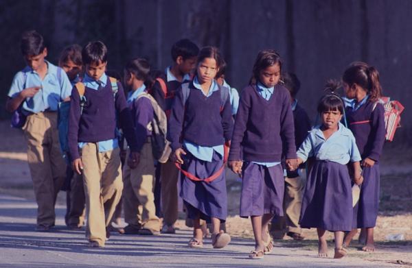 Village School by dsrathore999
